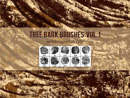 Tree Bark Brushes by xara24
