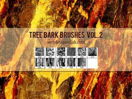 Tree Bark Brushes Vol. 2 by xara24