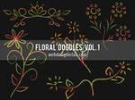 Floral Doodles Brushes (Vol. 1)