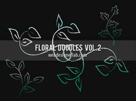 Floral Doodles Brushes (Vol. 2) by xara24