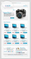 E-shop Newsletter Template by xara24