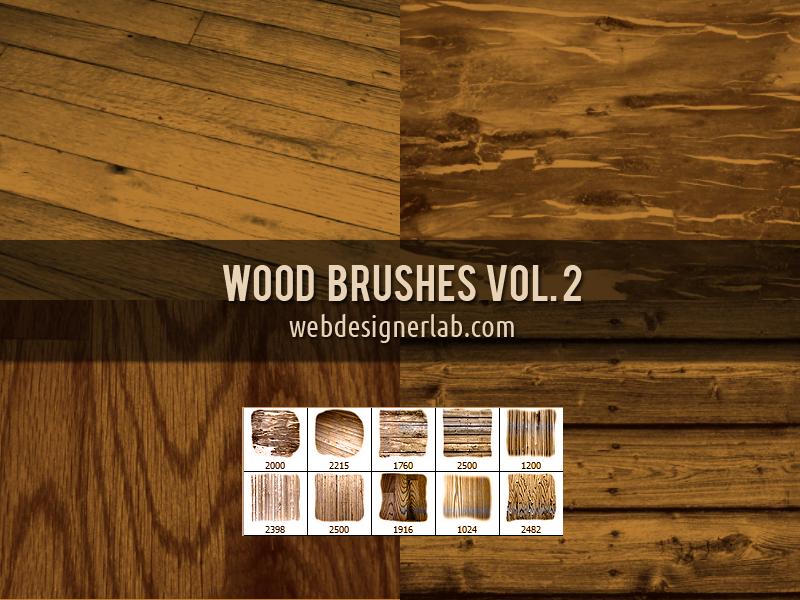 Wood Brushes Vol. 2 by xara24
