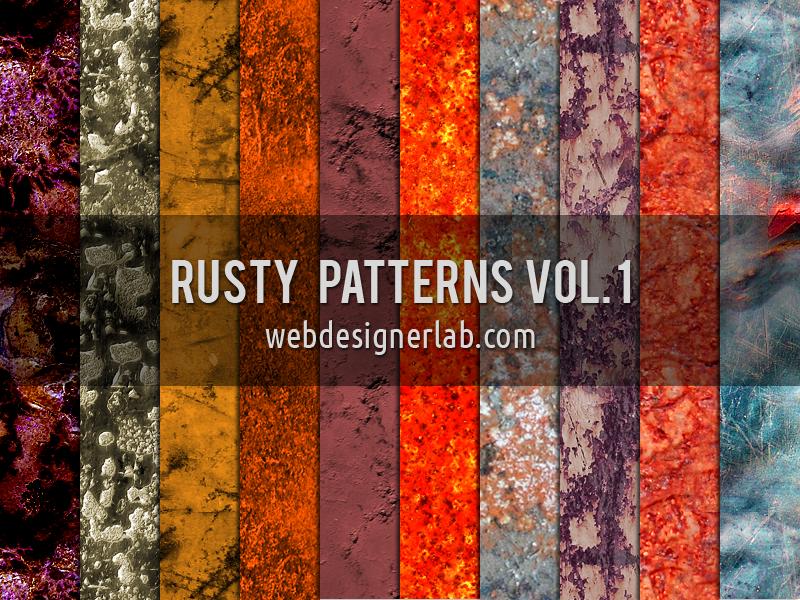 Rusty Patterns Vol. 1 by xara24