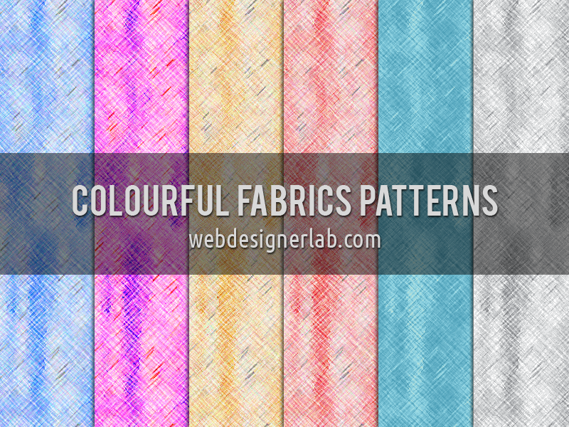 Colourful Fabrics Patterns by xara24