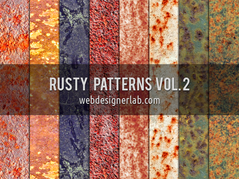 Rusty Patterns Vol. 2 by xara24