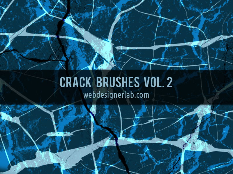Crack Brushes Vol. 2 by xara24