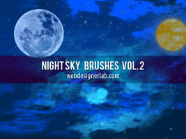 Night Sky Brushes Vol. 2 by xara24