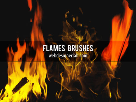 Flames Brushes