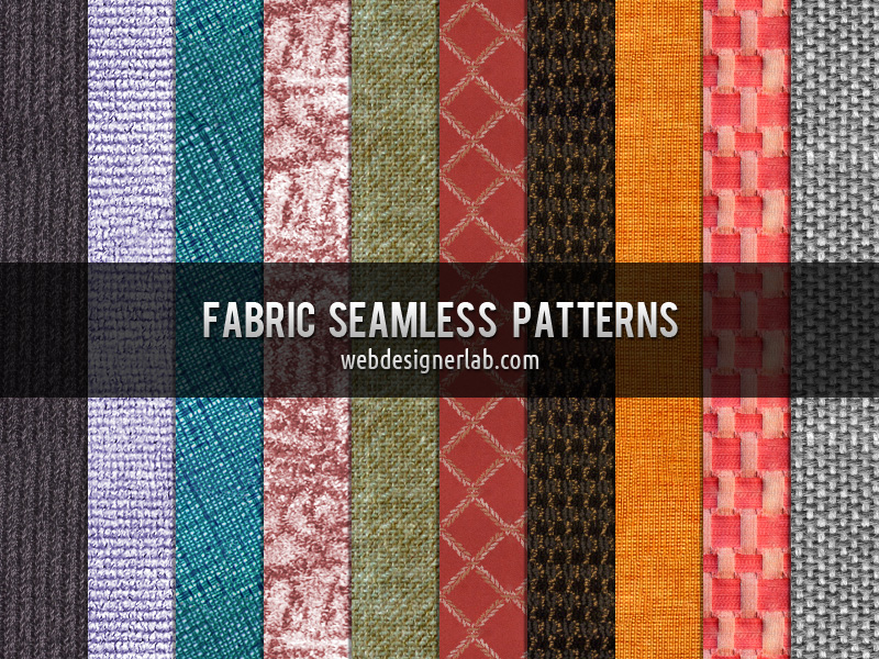 Fabric Seamless Patterns by xara24