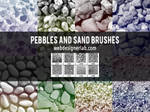 Pebbles and Sand Brushes