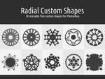 Radial Custom Shapes