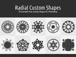 Radial Custom Shapes