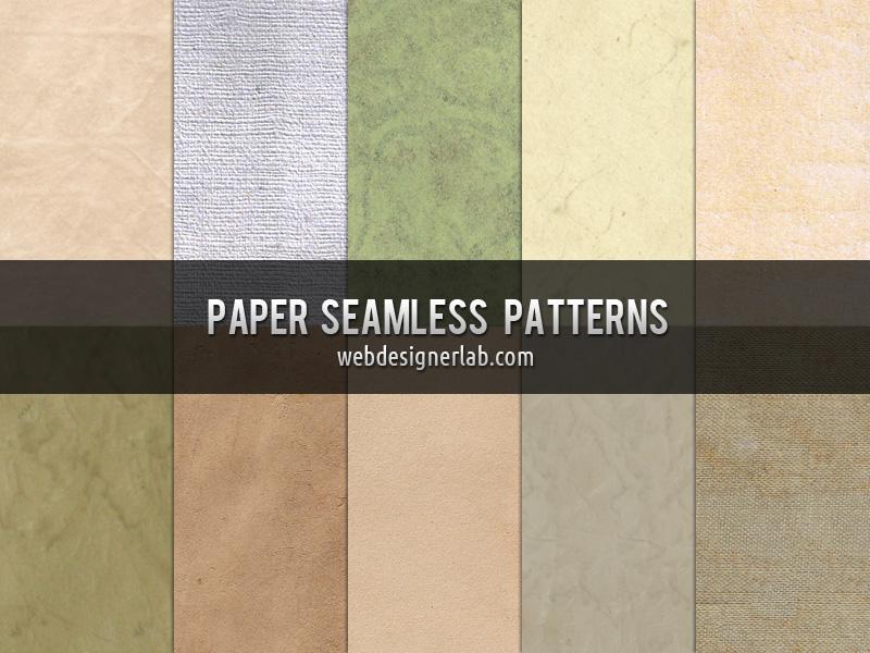 Free Paper Seamless Patterns by xara24