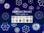 Free Snowflake Brushes