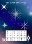 18 Star Brushes