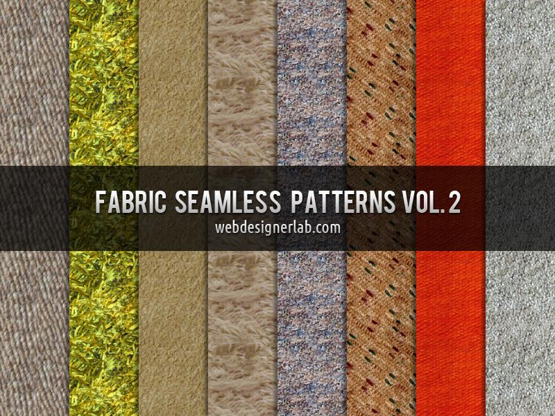 Fabric Seamless Patterns Vol. 2 by xara24