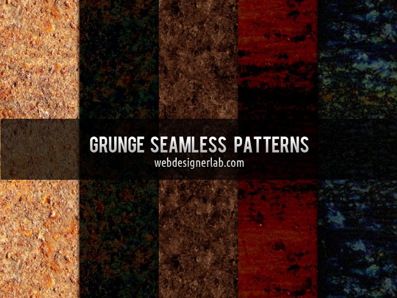 Grunge Seamless Patterns by xara24