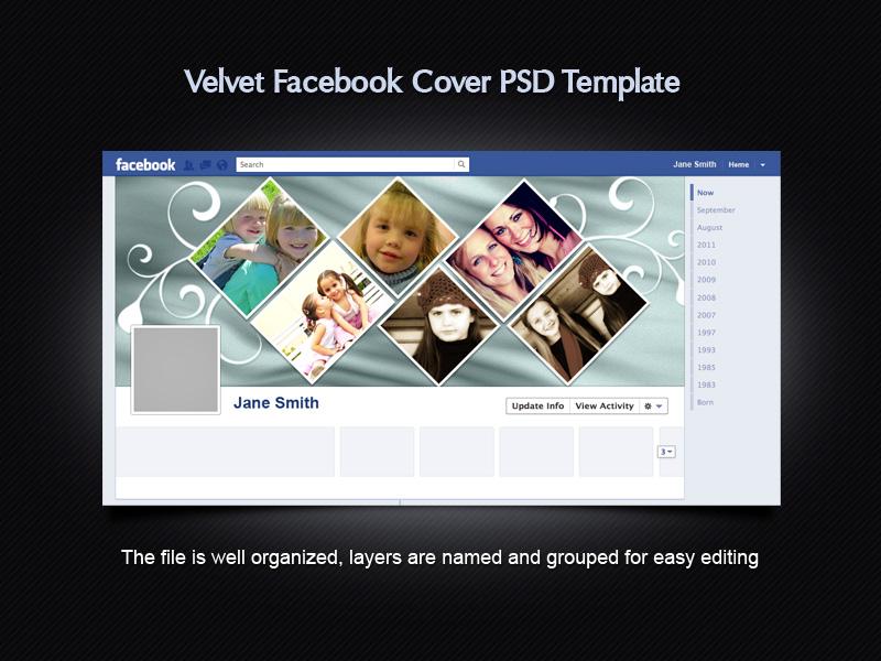 Velvet Facebook Cover Template by xara24