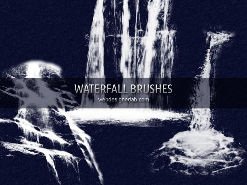Waterfall Brushes by xara24
