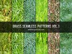 Grass Seamless Patterns