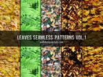 Leaves Seamless Patterns Vol. 1