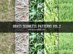 Grass Seamless Patterns Vol. 2