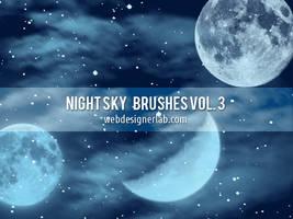 Night Sky Brushes Vol. 3 by xara24