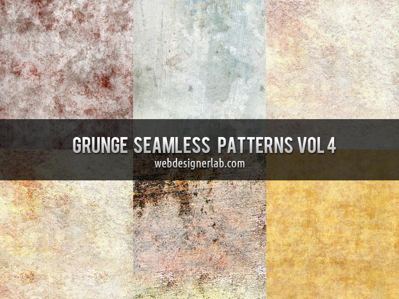 Grunge Seamless Patterns Vol. 4 by xara24