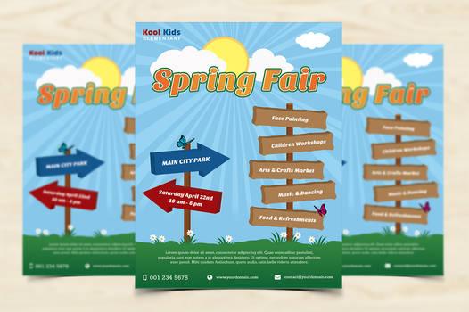 Spring Fair Flyer