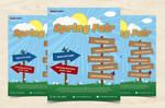 Spring Fair Flyer by xara24