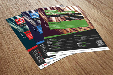 Conference or Event Flyer by xara24