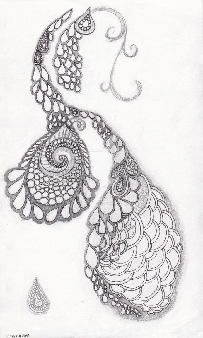 inverted Peacock Pinecone..... by the-twisted-vine