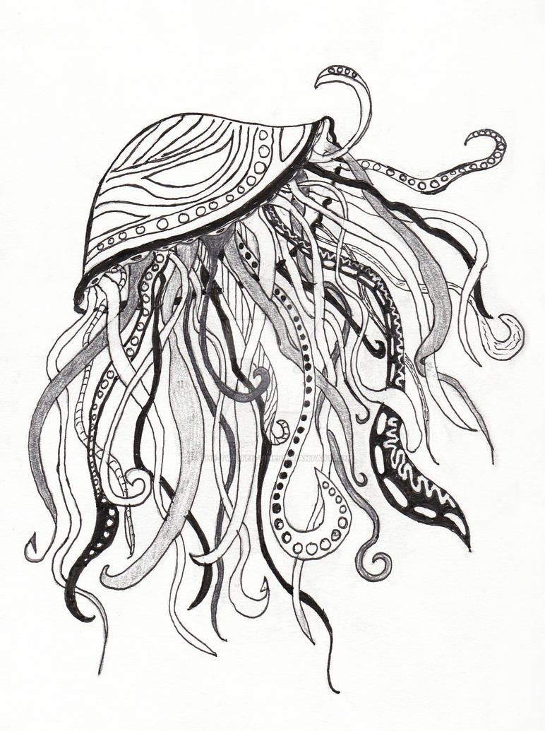 Abstract Jellyfish By The Twisted Vine On DeviantArt