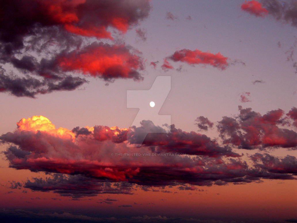 Sunset and moonrise in Utah 3 by the-twisted-vine