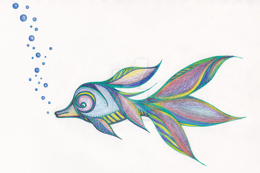'Accidental' Tropical Fish by the-twisted-vine