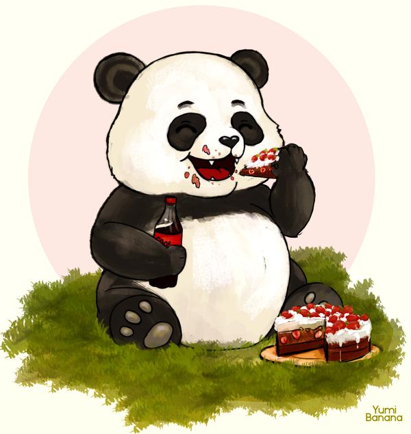 Panda by Yumi-Banana
