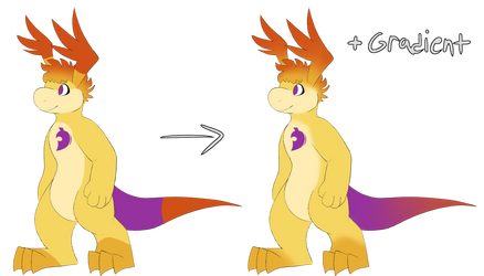 Ray gradient by OnionDragon