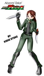 Takai Nozomi From Kamen Rider amazons