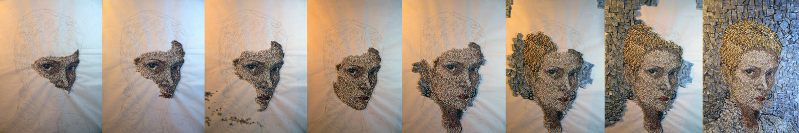 W.I.P. _ J. - Mosaic by JelenaZivkovic