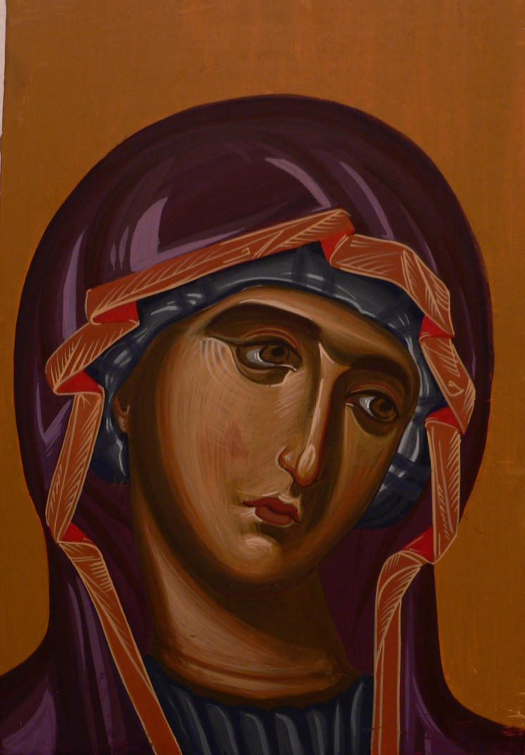 Theotokos by JelenaZivkovic