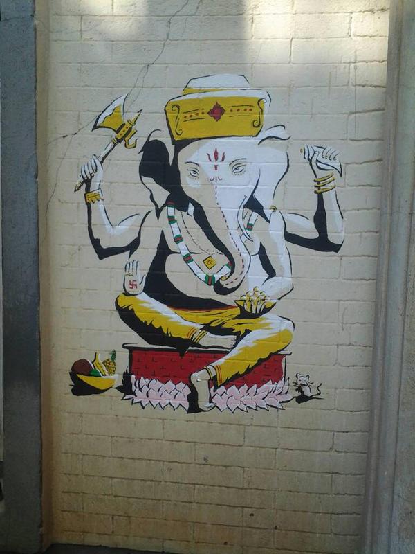 Blessing Ganesha by g00d-questi0n