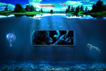 Underwater wordpress theme [for sale] by mconev