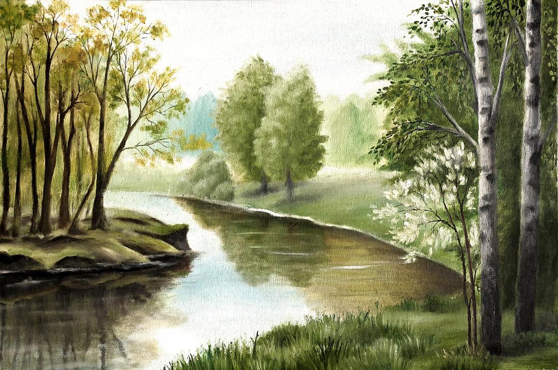 ☼ La Rivière de la Roche ☼ The_river_by_limontea-d4hnzxf