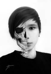 Skull Face by LimonTea