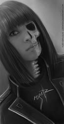 Skeleton Girl by LimonTea