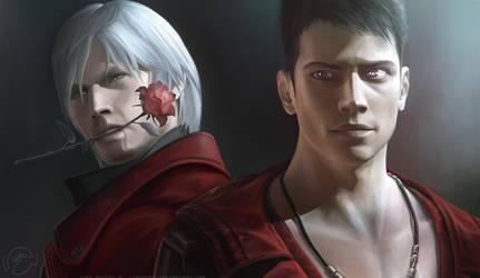 Dante And Dante by LimonTea