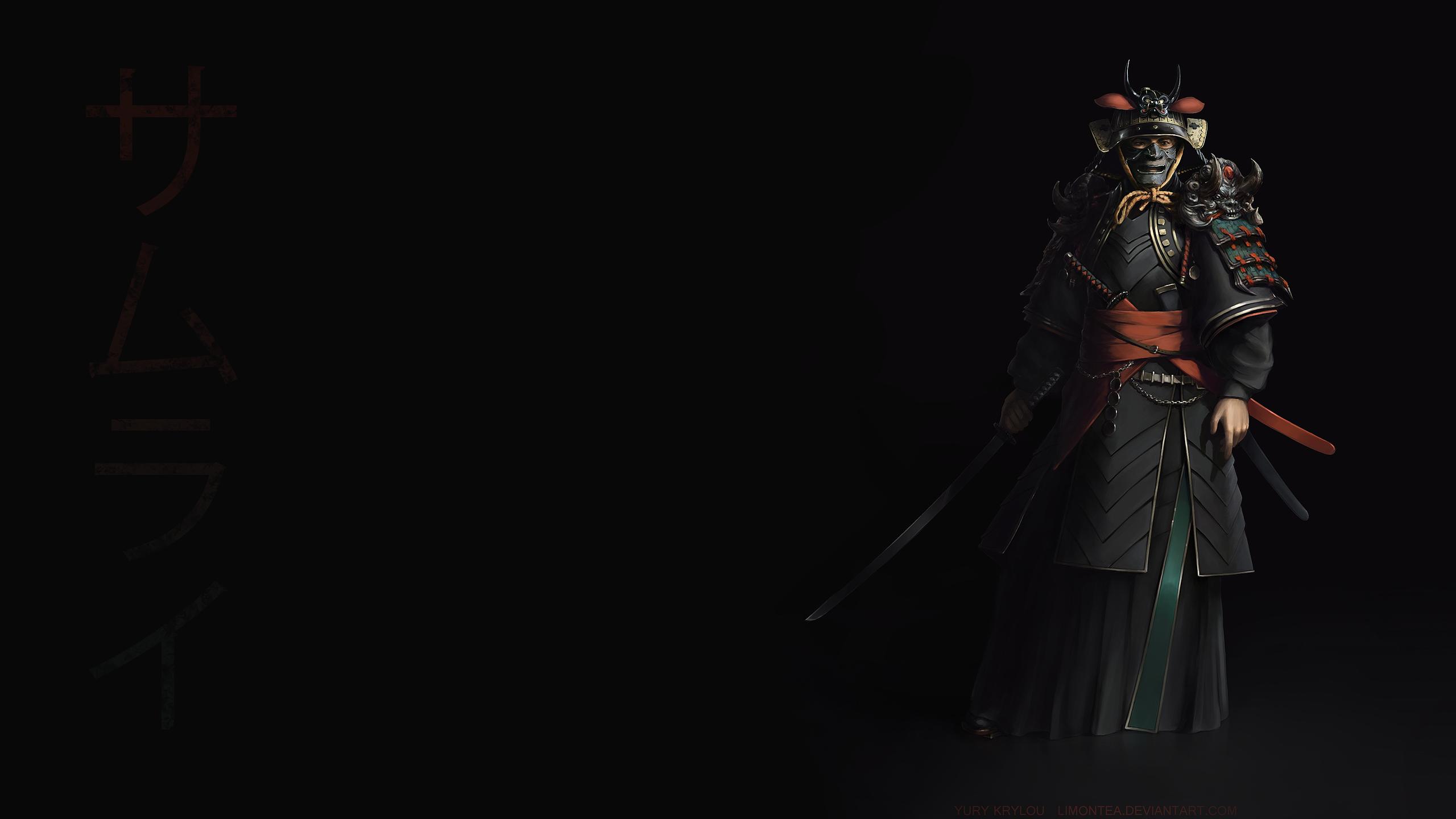 Samurai Wallpaper by LimonTea on DeviantArt