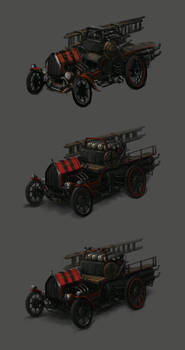 Firefighter Car Concept Process