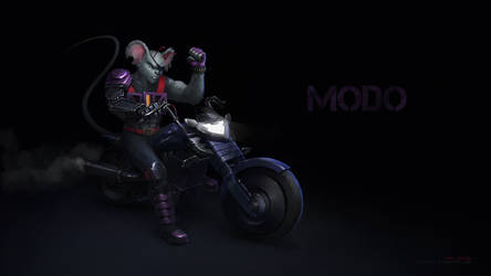 Modo - Biker Mice from Mars