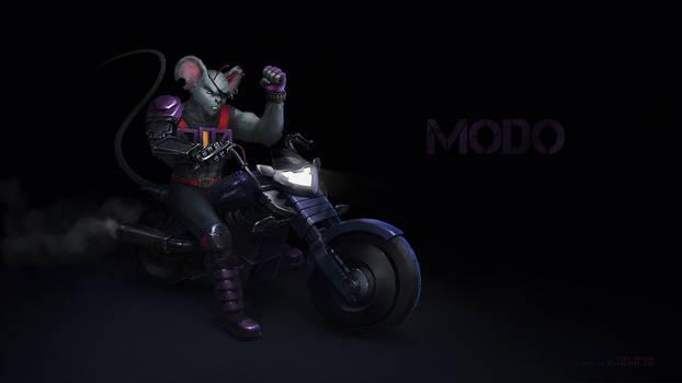 Modo - Biker Mice from Mars